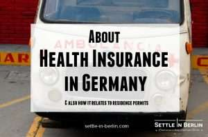 health insurance in germany residence permit