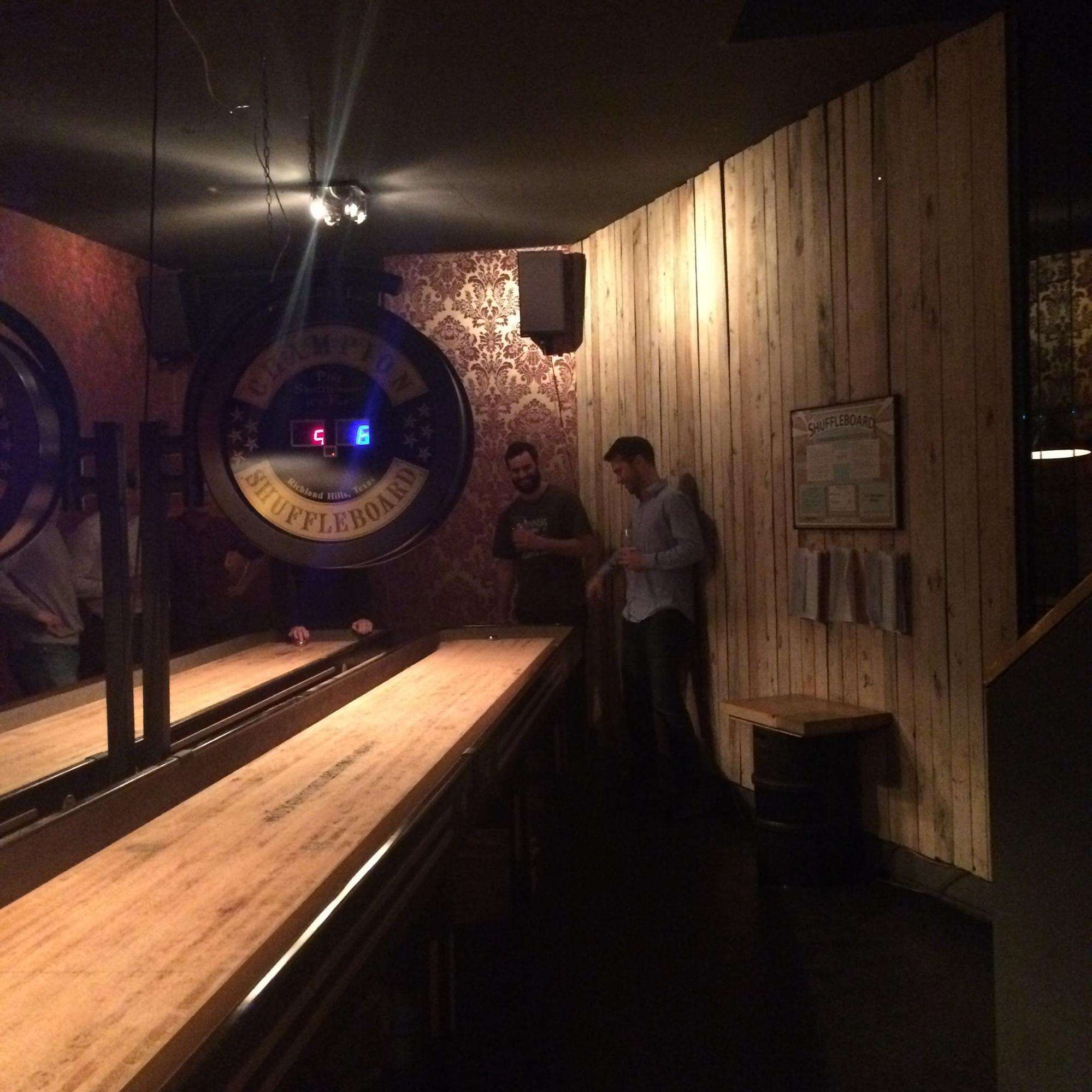 The Shuffleboards at Kaschk
