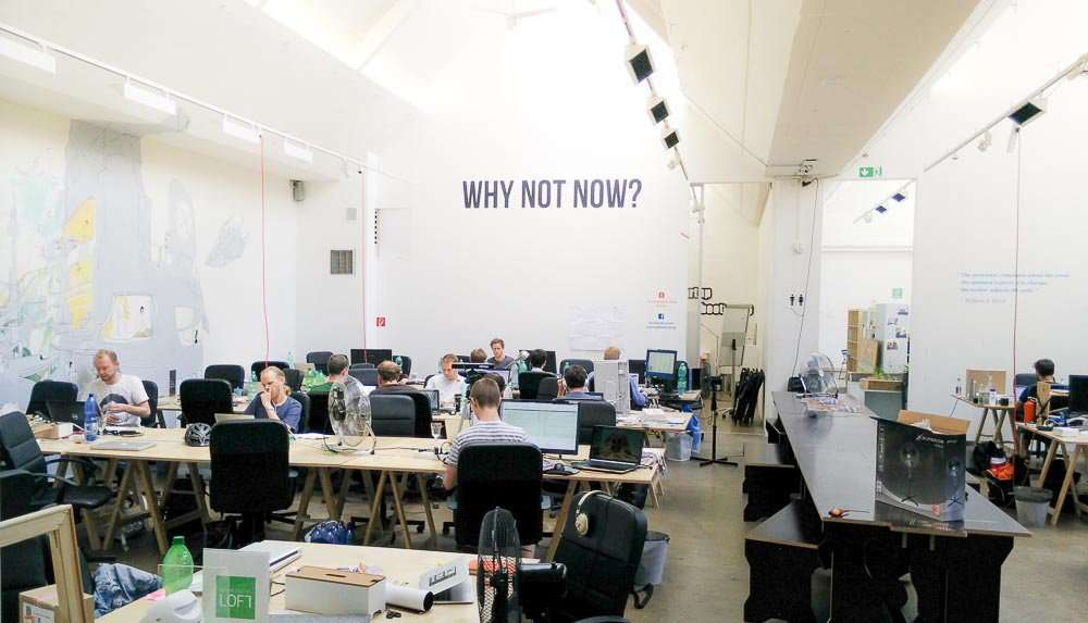 coworking space in Berlin - Rainmaking Loft
