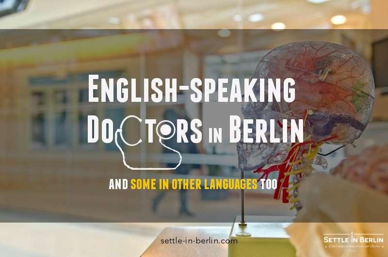 English speaking doctors in Berlin