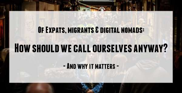 expats or immigrants, what's the difference