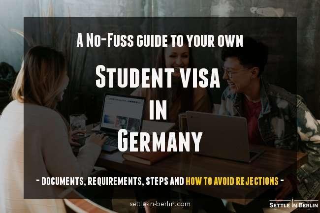 student visa Germany