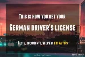 German driver's license test