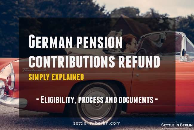 Pension Refund Germany