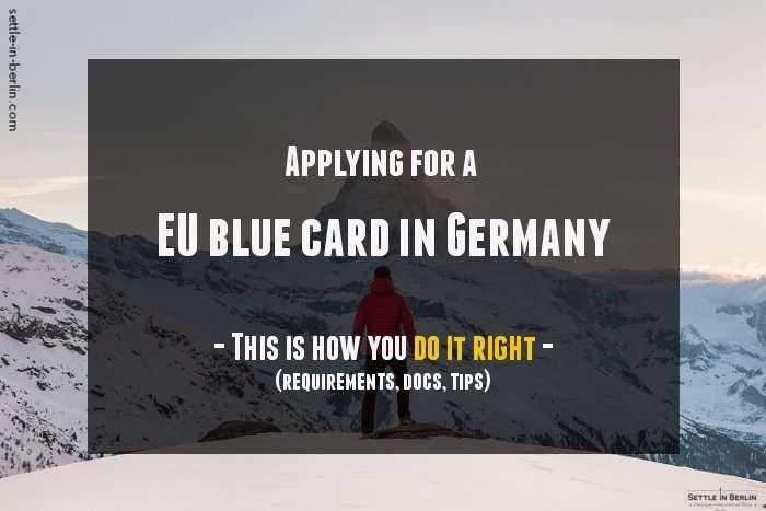 EU blue card Germany