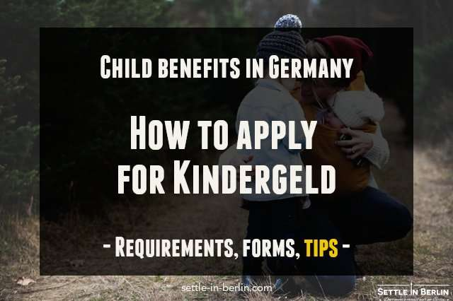 kindergeld germany child benefits application guide