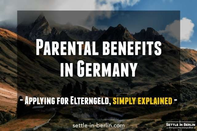 parental benefits in Germany