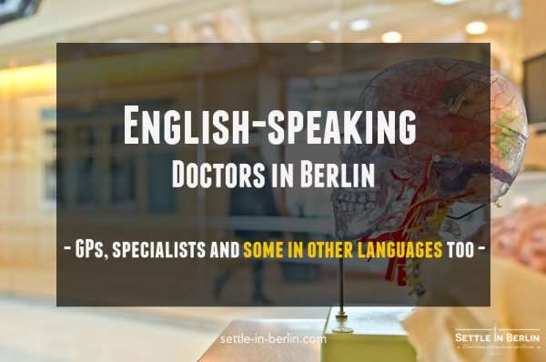 English speaking doctors in Berlin