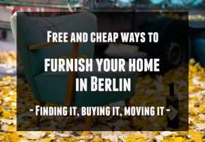 Furnish flat in Berlin