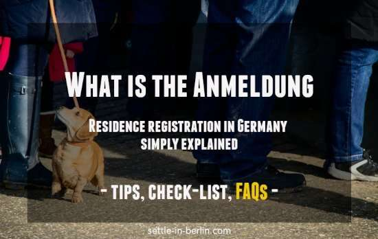 what is anmeldung english