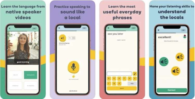 Memrise app screenshots