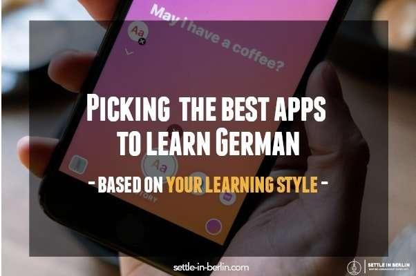 best apps to learn German post