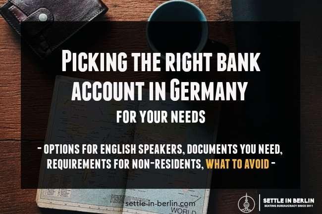 best german bank account for your needs