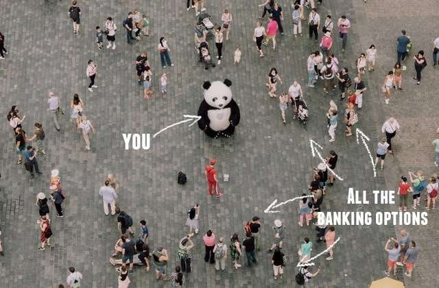 you vs banking options in Germany